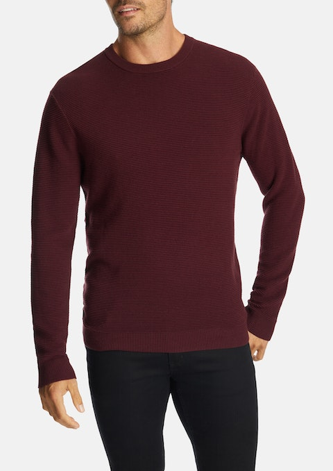 Wine Hoxton Knit