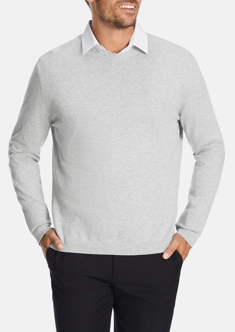 Light Grey Rodger Knit