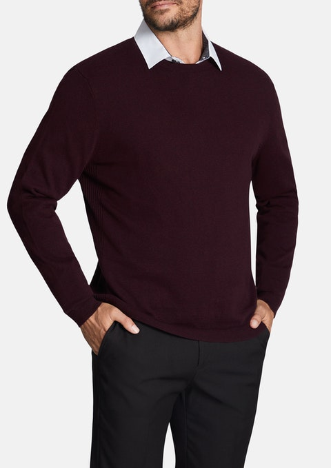 Wine Rodger Knit
