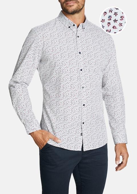 Wine Clifford Slim Shirt