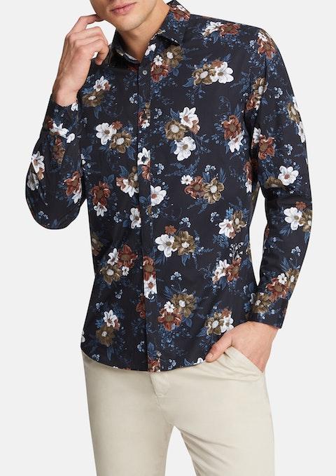 Charcoal Torrens Stretch Shirt