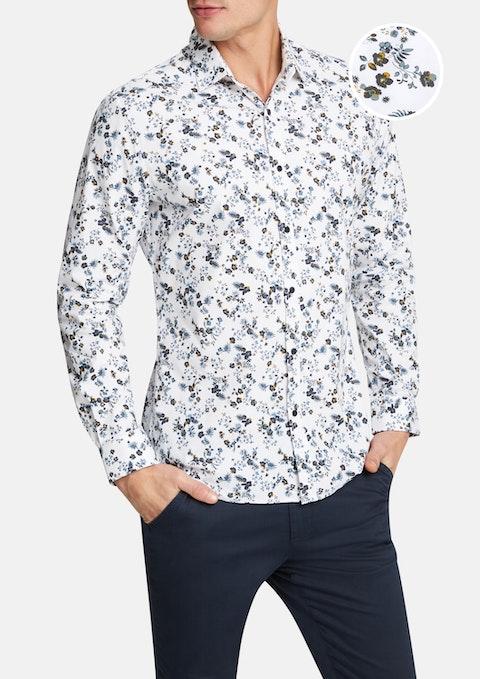 Mustard Radford Slim Shirt