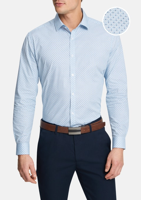 Light Blue Wright Shirt
