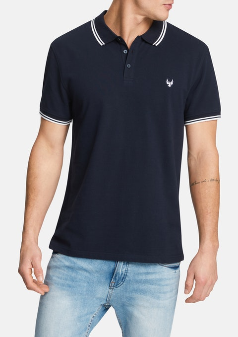 Navy Kieran Polo