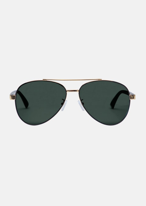 Gold Weller Sunglasses