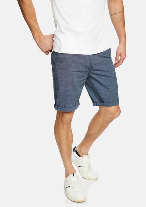 Blue Hank Short