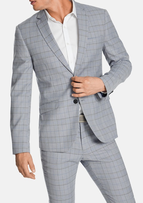 Light Blue Irvine Skinny Suit Jacket
