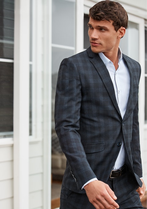 Ink Edison Skinny Suit Jacket
