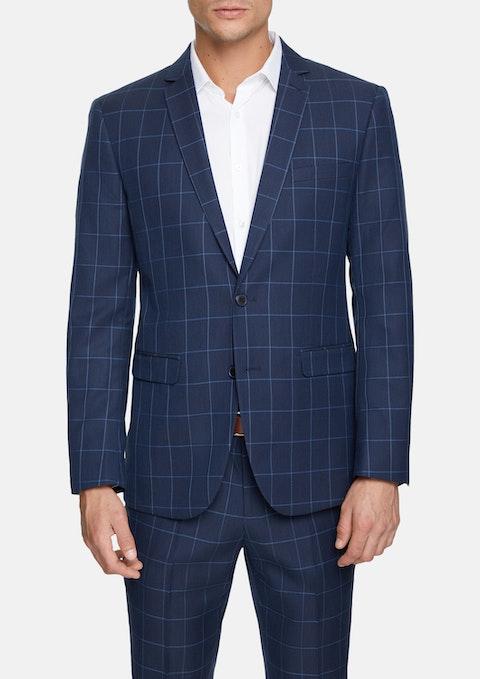 Navy Montreal Slim Suit Jacket