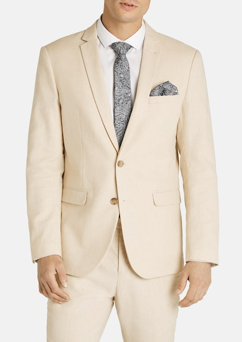 Sand Scarborough Slim Suit Jacket