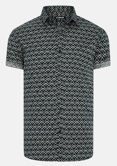 Ink Domino Slim Stretch Shirt