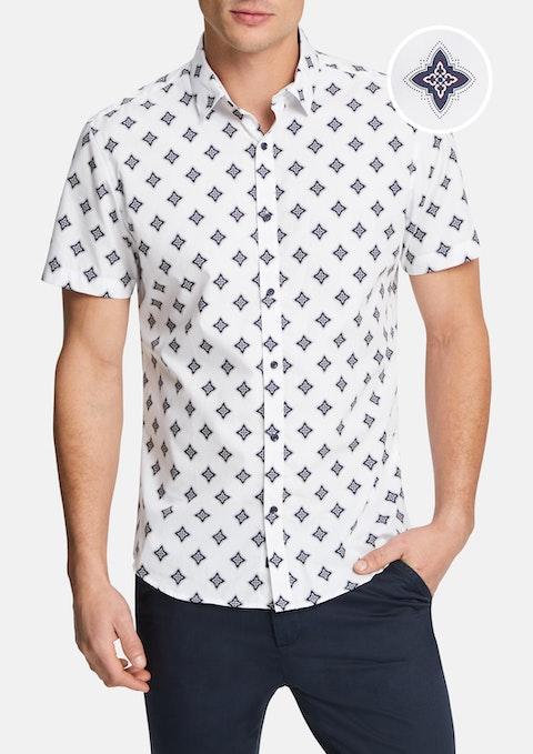 White Corey Slim Shirt