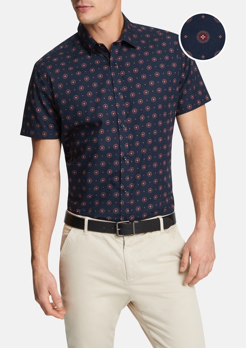Navy Bourne Shirt