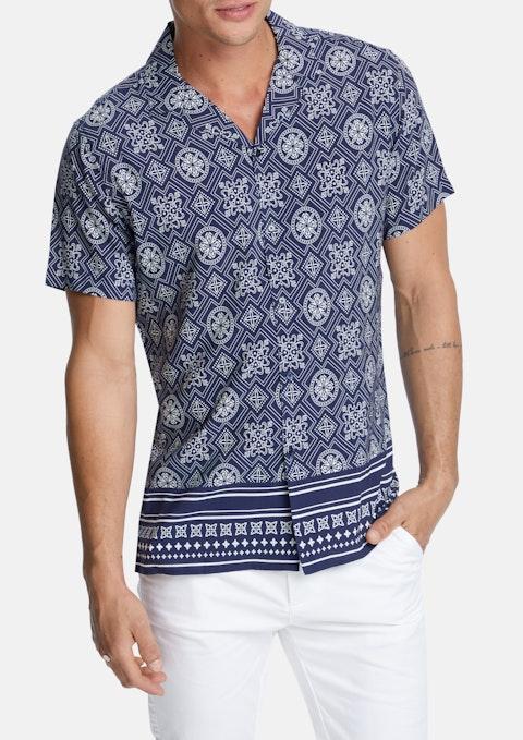 Navy Alix Shirt