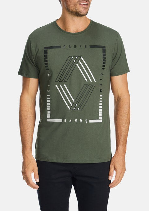 Military Cairns Crew Tee