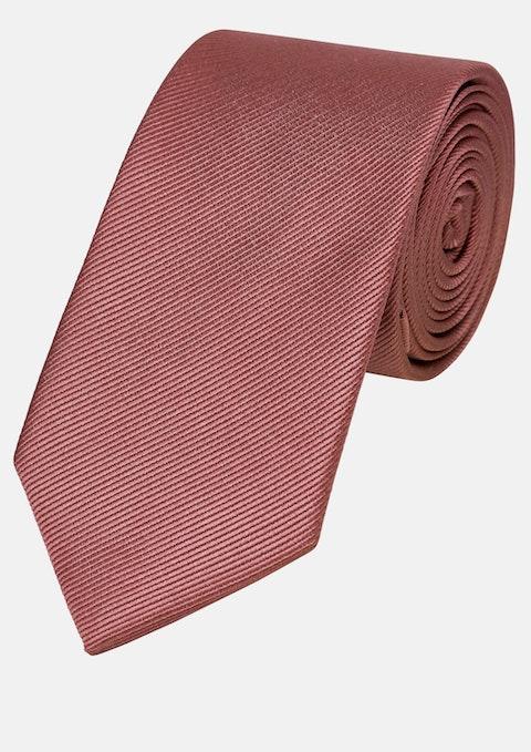 Dusty Pink Plain 6cm Tie