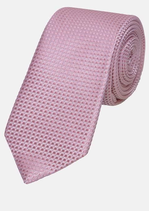 Pink Textured 5cm Tie
