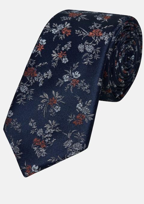 Rust Jacquard 6cm Tie
