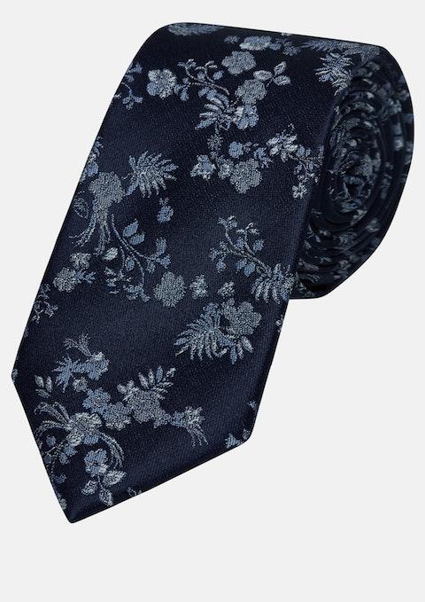 Blue Jacquard 6cm Tie