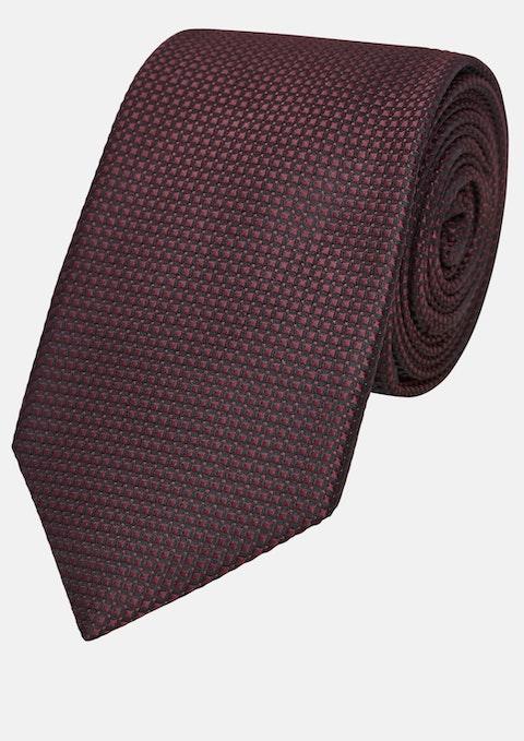 Wine Textured 7cm Tie