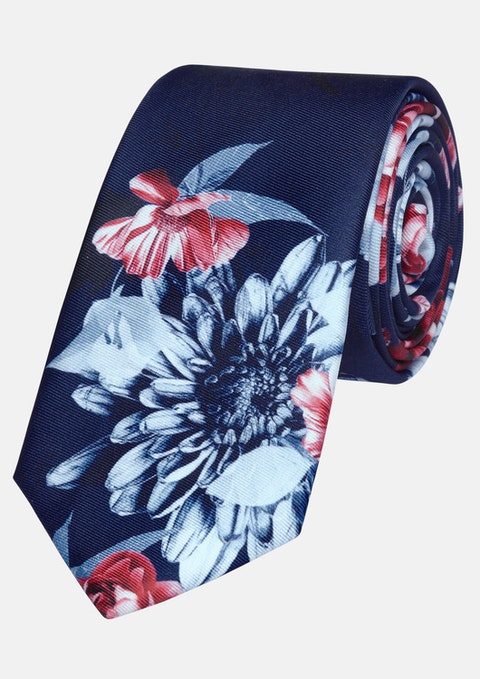 Blue Flynn 6cm Tie