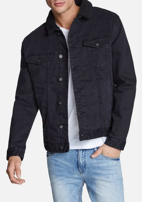 Black Burt Denim Jacket