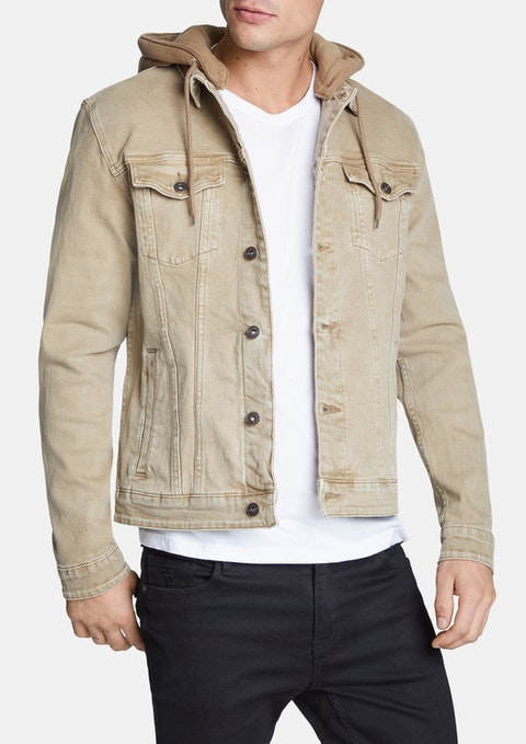Sand Karter Denim Jacket