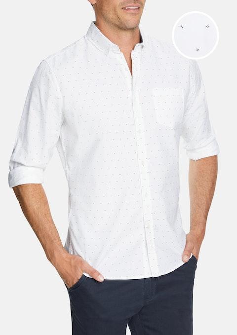 White Buckland Casual Shirt