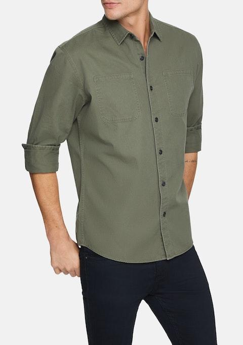 Military Perkins Shirt Jacket