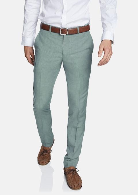 Green Regency Skinny Dress Pant