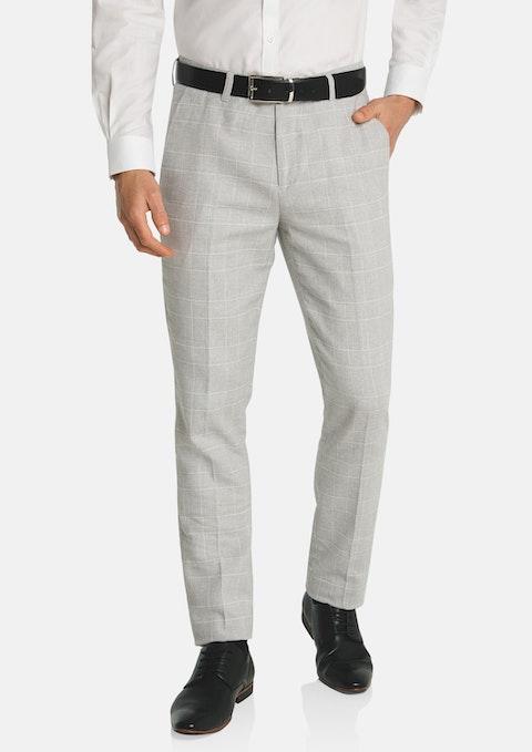 Light Grey Sorrento Slim Dress Pant