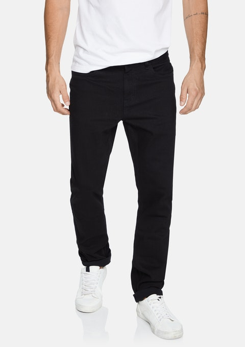 Black Kenny Tapered Jean