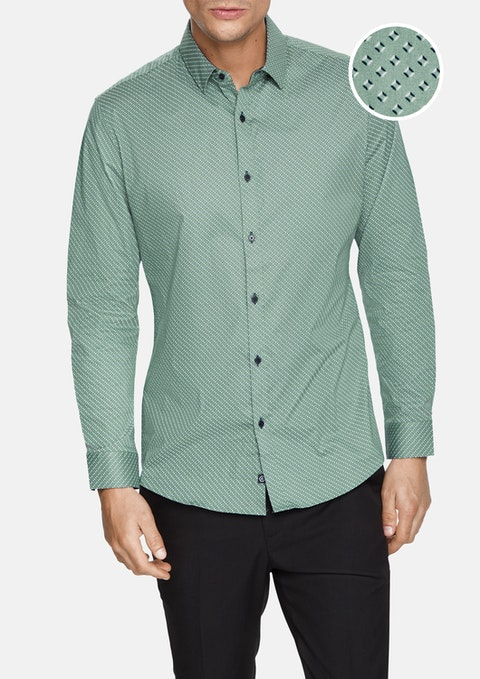 Sage Olivet Stretch Shirt