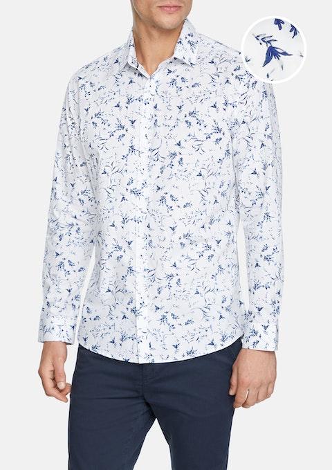 White Darian Shirt