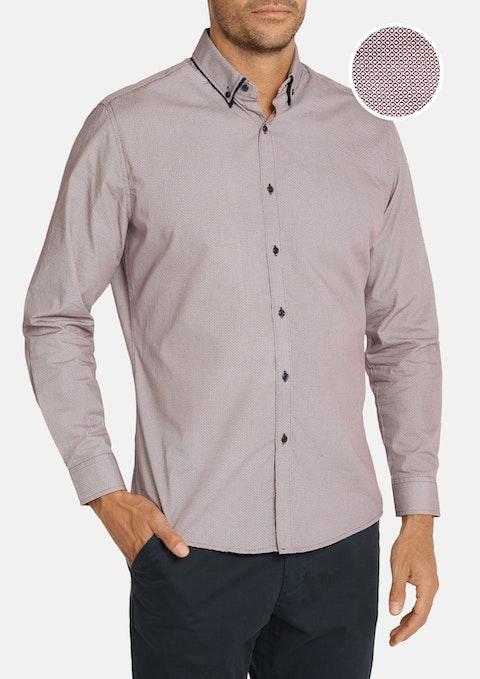 Wine Bramwell Shirt