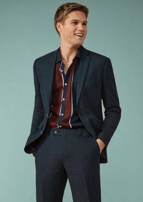 Navy Scarborough Slim Suit Jacket