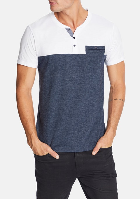 Denim Don Henley Tee